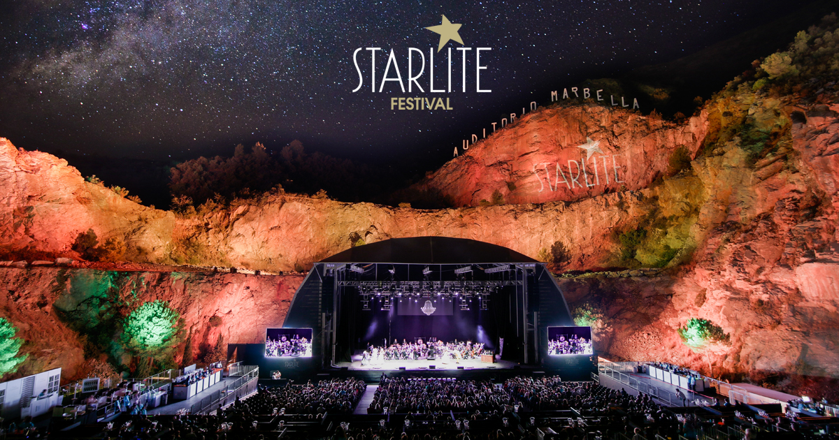 Tom Jones, Simple Minds, Il Divo and Lionel Richie at this year's Marbella Starlite Festival 2